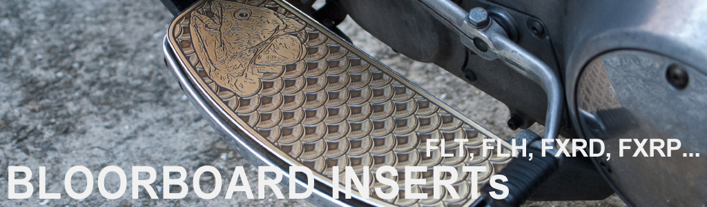 Yu Parts Design FLT FLH FXRD Floorboard Inserts