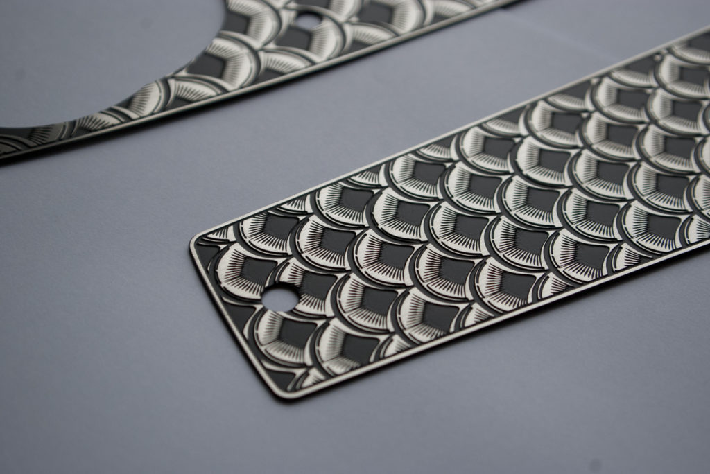 stainless tank dash cover for fxr