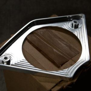 harley fxrd aluminum speaker cover