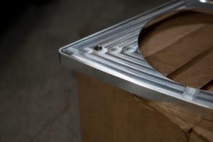 FXRD aluminum speaker cover