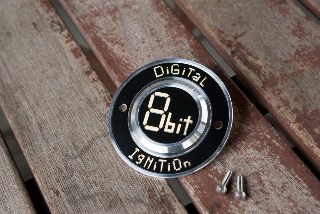 Harley-Davidson 8bit digital ignition アルミ製ポイントカバー