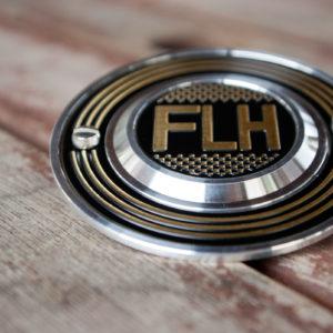 Harley-Davidson FLH checker flag point cover